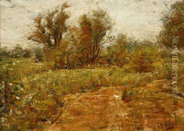 Landscape Oil Painting - Anna Adelaide Abrahams