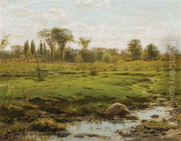 Early Summer Oil Painting - William Bliss Baker