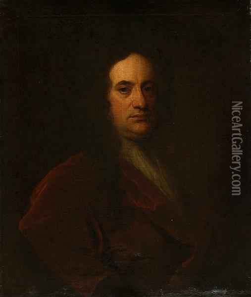 George Baillie Of Garrick Wood Oil Painting - William Aikman