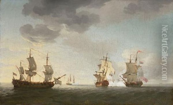 The Taking Of The French Merchantmen