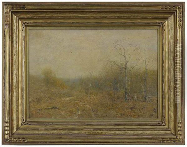 Late Fall Oil Painting - Bruce Crane