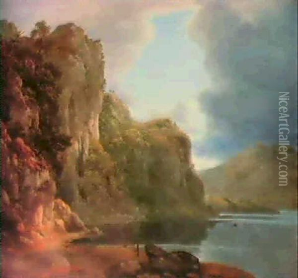 Before The Storm Oil Painting - John Glover