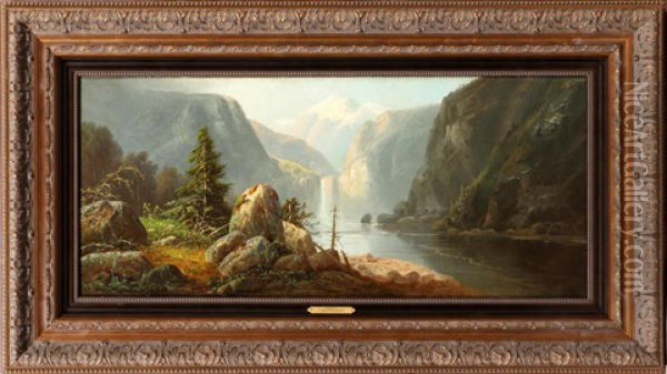 The Rockies Oil Painting - Gunther Hartwick