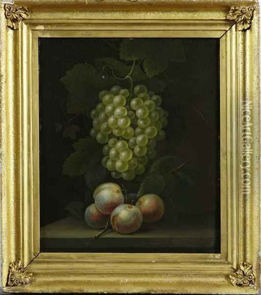 Fruktstilleben Oil Painting - William Beardmore