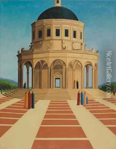 Tempio, 2003 Oil Painting - Antonio Bencini