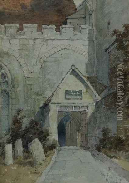 Holy Trinity York Oil Painting - William James Boddy