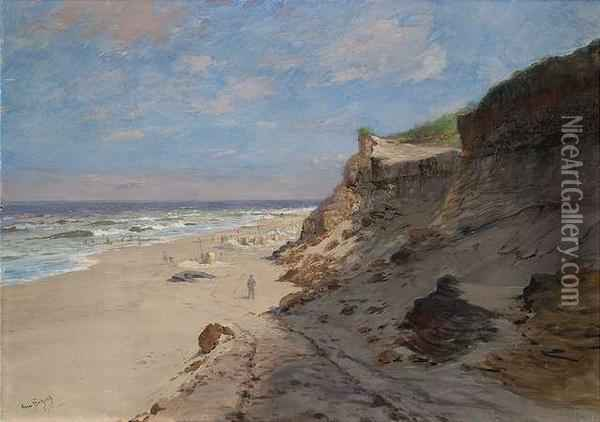 Wenningstedt On Sylt Island Oil Painting - Hans Bohrdt