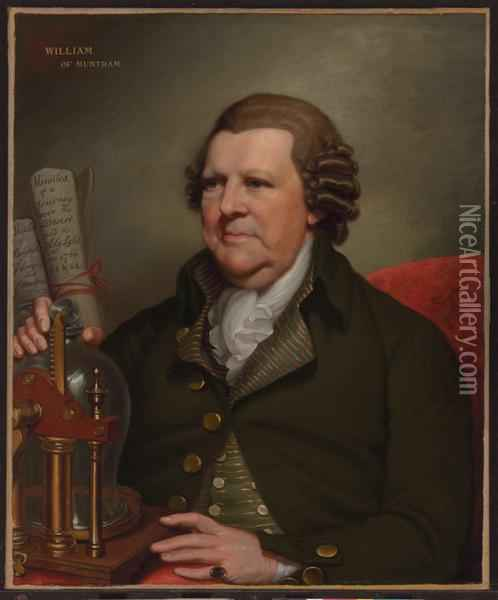 Portrait Of Sir William Franklin Of Muntham Court Oil Painting - Mather Brown