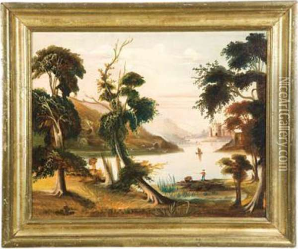 Landscape Oil Painting - Thomas Chambers