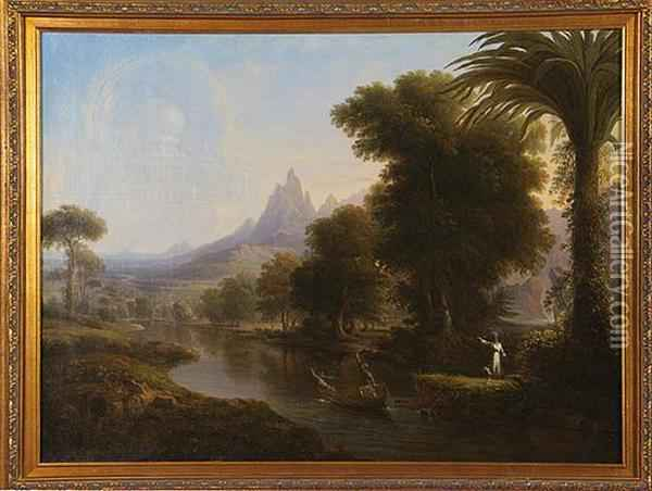 The Voyage Of Life - Youth Oil Painting - Thomas Cole