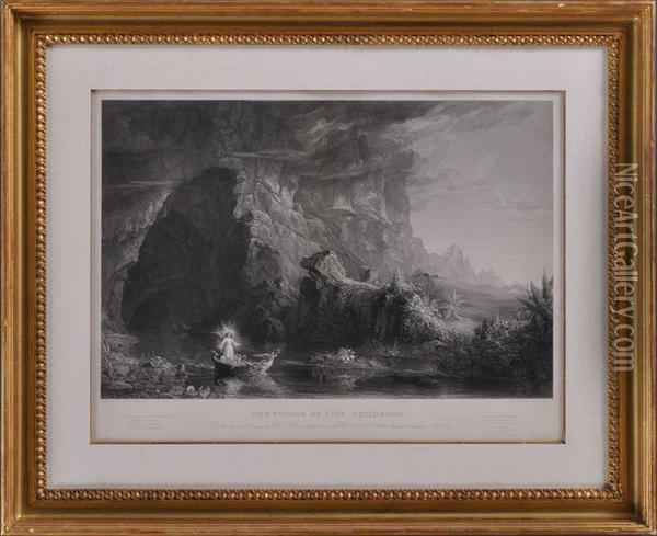 The Voyage Of Life Oil Painting - Thomas Cole