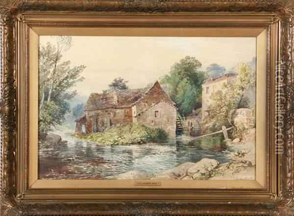 Mill Scene Oil Painting - William Collingwood Smith
