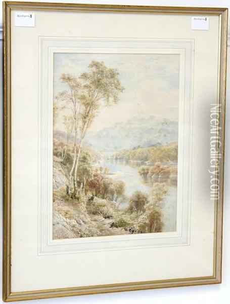 At The End Of Loch Maree Oil Painting - Ebenezer Wake Cook