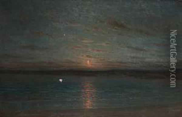 Nocturno Oil Painting - Byron Cooper