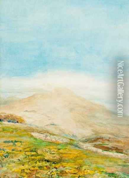 Annalong, County Down Oil Painting - Elizabeth Corbet-Yeats