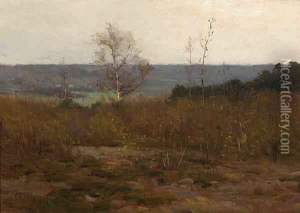Connecticut River Valley Oil Painting - Charles Harold Davis