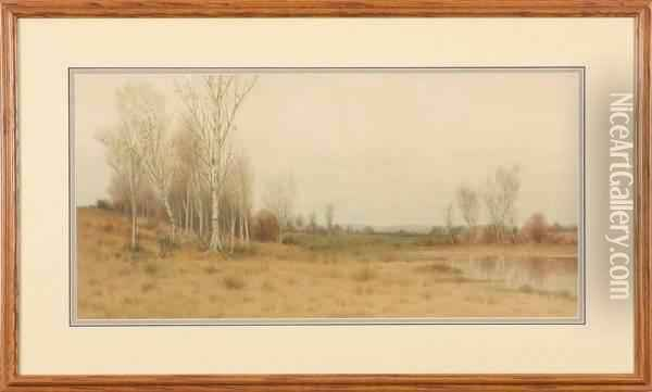 Landscape Oil Painting - George Howell Gay