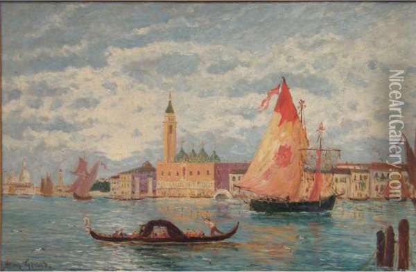 Venise Oil Painting - Henry Gerard
