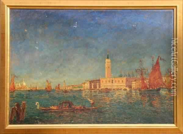 Venice Oil Painting - Henry Gerard