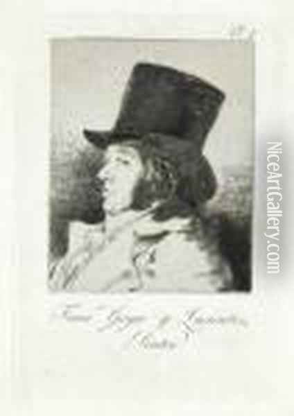 Francisco Goya Y Lucientes, Pintor Oil Painting - Francisco De Goya y Lucientes