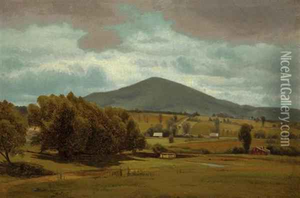 A View Of New Hampshire Oil Painting - William Howard Hart