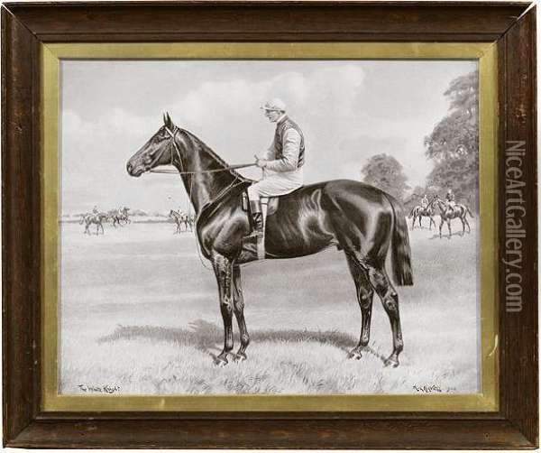 Studies Of Racehorses, A Collection Of Seven Photographic Prints Oil Painting - Daniel Havell