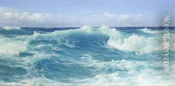 The Morning Tide Oil Painting - David James