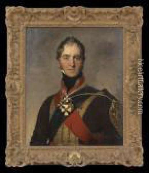 Portrait Of Sir Henry William Paget Oil Painting - Sir Thomas Lawrence