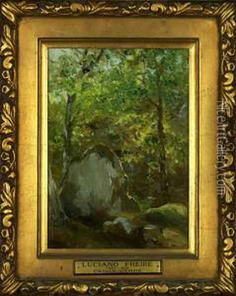 Penha Verde - Sintra Oil Painting - Luciano Martins Freire