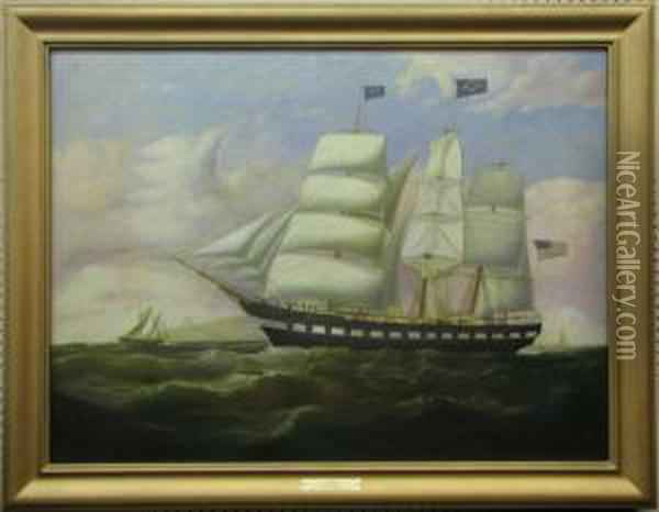 Hove To For Pilot Off Point Linus Oil Painting - Duncan Mcfarlane