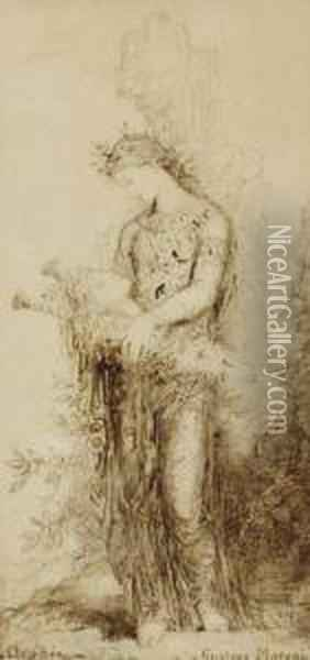 Orphee Oil Painting - Gustave Moreau