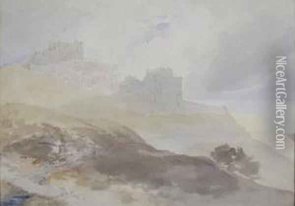 Dover Castle Oil Painting - William, Dover Of Burgess