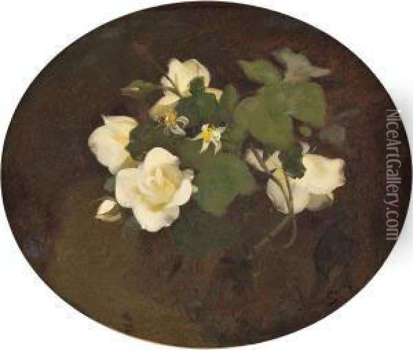 Blumenstillleben Oil Painting - James Stuart Park