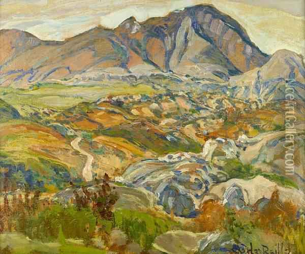 In The Mountains, Baja, California Oil Painting - Charles Reiffel