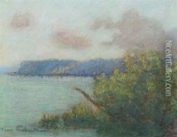 Evening On The Loire Oil Painting - Tom Robertson