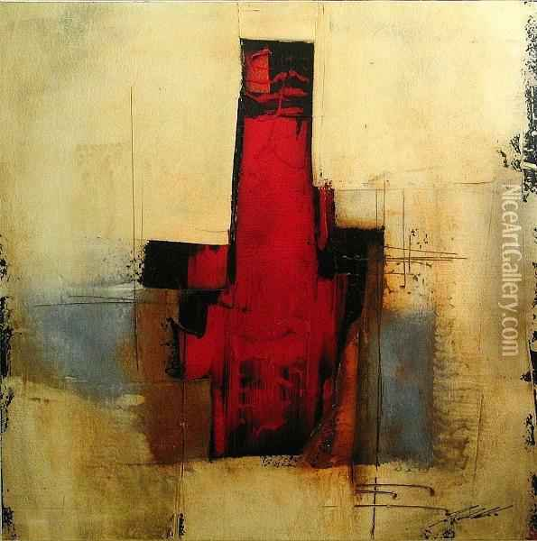 Untitled; Untitled (2) Oil Painting - Jan Rudnicki