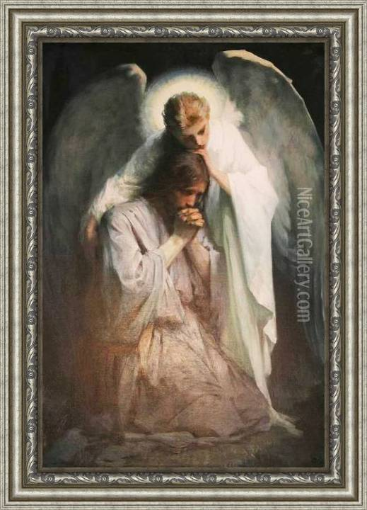Agony In The Garden Oil Painting Reproduction By Frans Schwartz